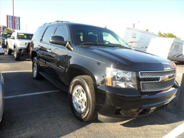 2012 CHEVROLET TAHOE LS 4X2 4DR SUV black laporte mitsubishi  w in-house  advantage also can put