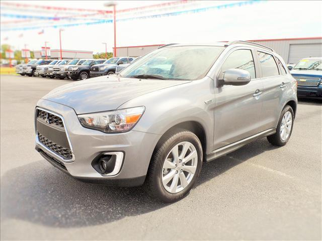 2015 MITSUBISHI OUTLANDER SPORT silver laporte mitsubishi  w in-house  advantage also can put a