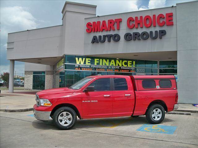 2011 RAM RAM PICKUP 1500 red 116640 miles VIN 1D7RV1GP6BS693199