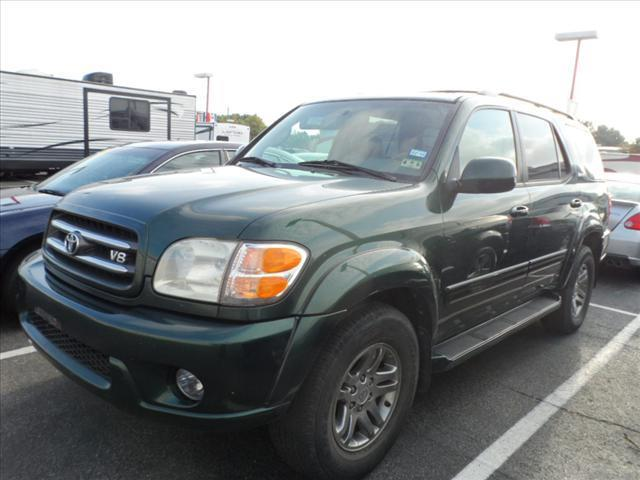 2003 TOYOTA SEQUOIA LIMITED 4DR SUV green laporte mitsubishi  w in-house  advantage also can put