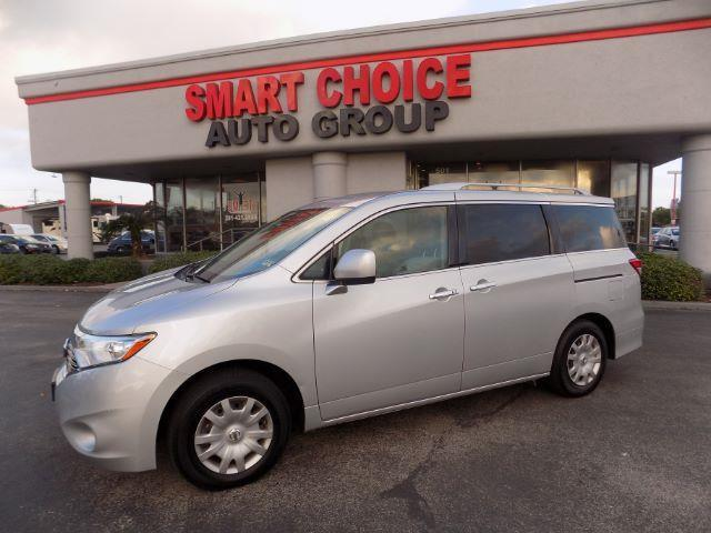 2012 NISSAN QUEST 35 S 4DR MINI VAN silver abs brakesair conditioningamfm radiocargo area ti