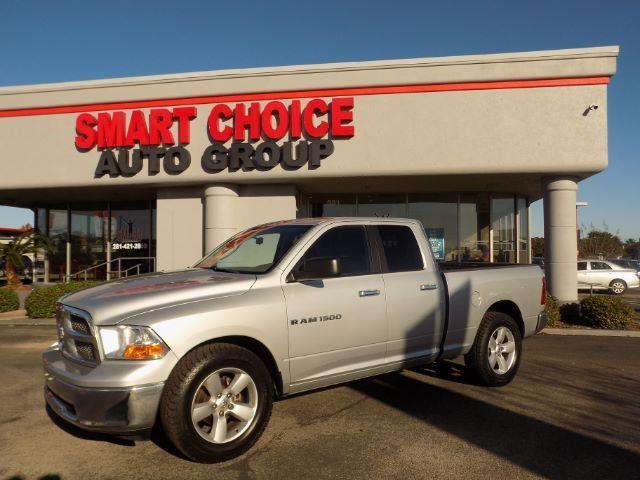 2011 RAM RAM PICKUP 1500 SLT QUAD CAB 2WD silver abs brakesair conditioningalloy wheelsamfm r