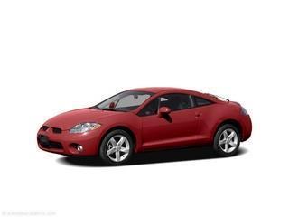 2006 MITSUBISHI ECLIPSE GT red 131431 miles VIN 4A3AK34T46E002489