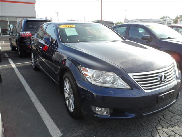 2010 LEXUS LS 460 BASE AWD 4DR SEDAN blue laporte mitsubishi  w in-house  advantage also can put