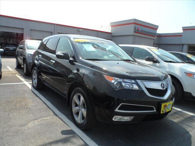 2011 ACURA MDX SH-AWD WTECH 4DR SUV WTECHNOLO black follow the white rabbit --patriot sale--