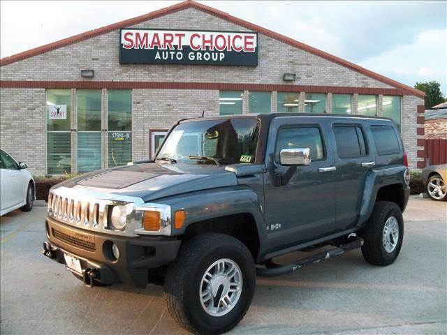 2006 HUMMER H3 BASE 4DR SUV 4WD blue grille color - chrome skid plates front air conditioning