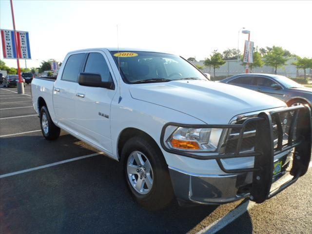 2010 DODGE RAM PICKUP 1500 white follow the white rabbit --patriot sale-- right now with 0