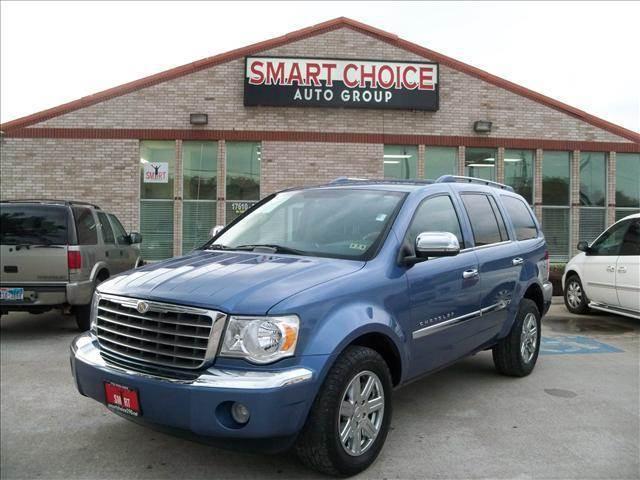 2008 CHRYSLER ASPEN LIMITED 4X2 4DR SUV blue 86068 miles VIN 1A8HX58208F135885