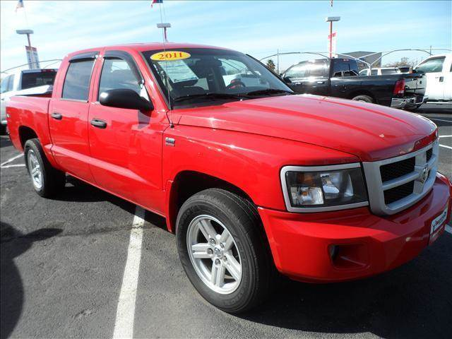 2011 RAM DAKOTA bright silver metallic happy new year on red 2011 dodge dakota   autowhy wait an