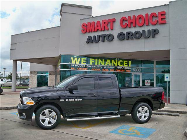 2012 RAM RAM PICKUP 1500 black 33314 miles VIN 1C6RD6FT3CS237226