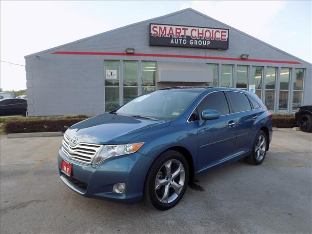 2010 TOYOTA VENZA FWD V6 4DR CROSSOVER blue abs brakesair conditioningalloy wheelsamfm radio