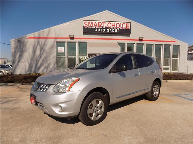 2011 NISSAN ROGUE S AWD 4DR CROSSOVER silver 4wdawdabs brakesair conditioningamfm radiocarg