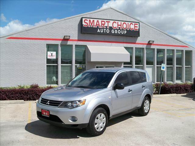2007 MITSUBISHI OUTLANDER silver abs brakesair conditioningalloy wheelsamfm radioautomatic h