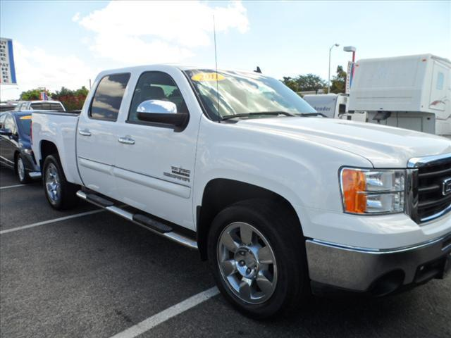 2011 GMC SIERRA 1500 SLE 4X2 4DR CREW CAB 58 FT SB white thank you very much for the opportunit