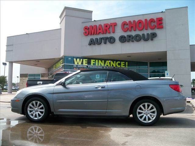 2010 CHRYSLER SEBRING TOURING 2DR CONVERTIBLE grey 112861 miles VIN 1C3BC5ED0AN176211
