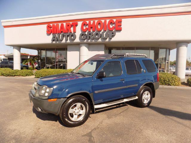 2004 NISSAN XTERRA XE 2WD blue abs brakesair conditioningalloy wheelsamfm radiocargo area co