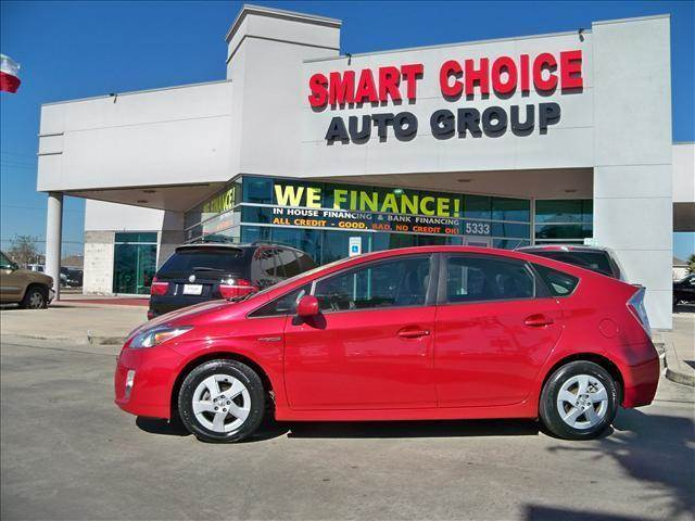 2010 TOYOTA PRIUS ONE TWO THREE FOUR FIVE red 58403 miles VIN JTDKN3DU0A0228705