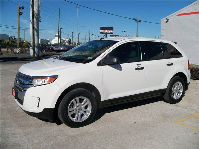 2011 FORD EDGE SE 4DR SUV white abs brakesair conditioningalloy wheelsamfm radiocargo area t
