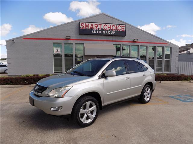 2007 LEXUS RX 350 BASE 4DR SUV abs brakesair conditioningalloy wheelsamfm radioautomatic head