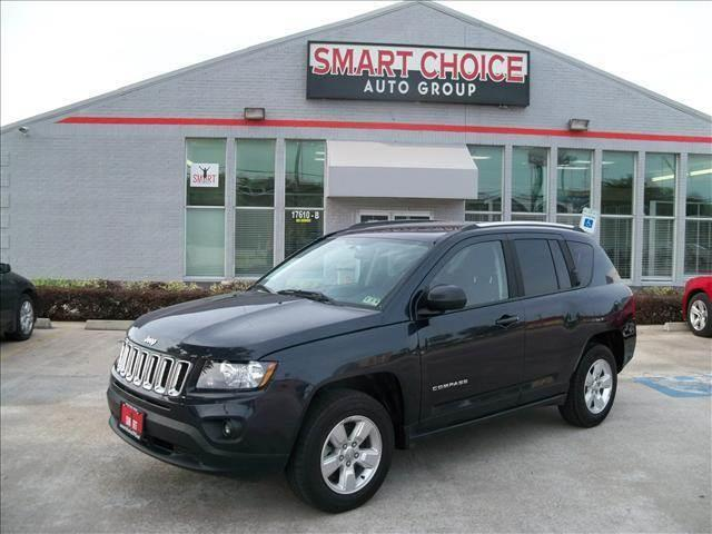 2014 JEEP COMPASS black abs brakesair conditioningalloy wheelscargo area tiedownscd playerch