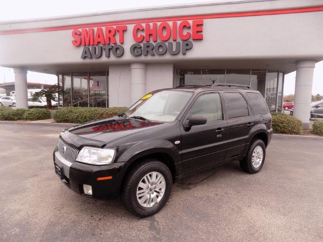 2007 MERCURY MARINER LUXURY 4DR SUV black abs brakesair conditioningalloy wheelsamfm radioca