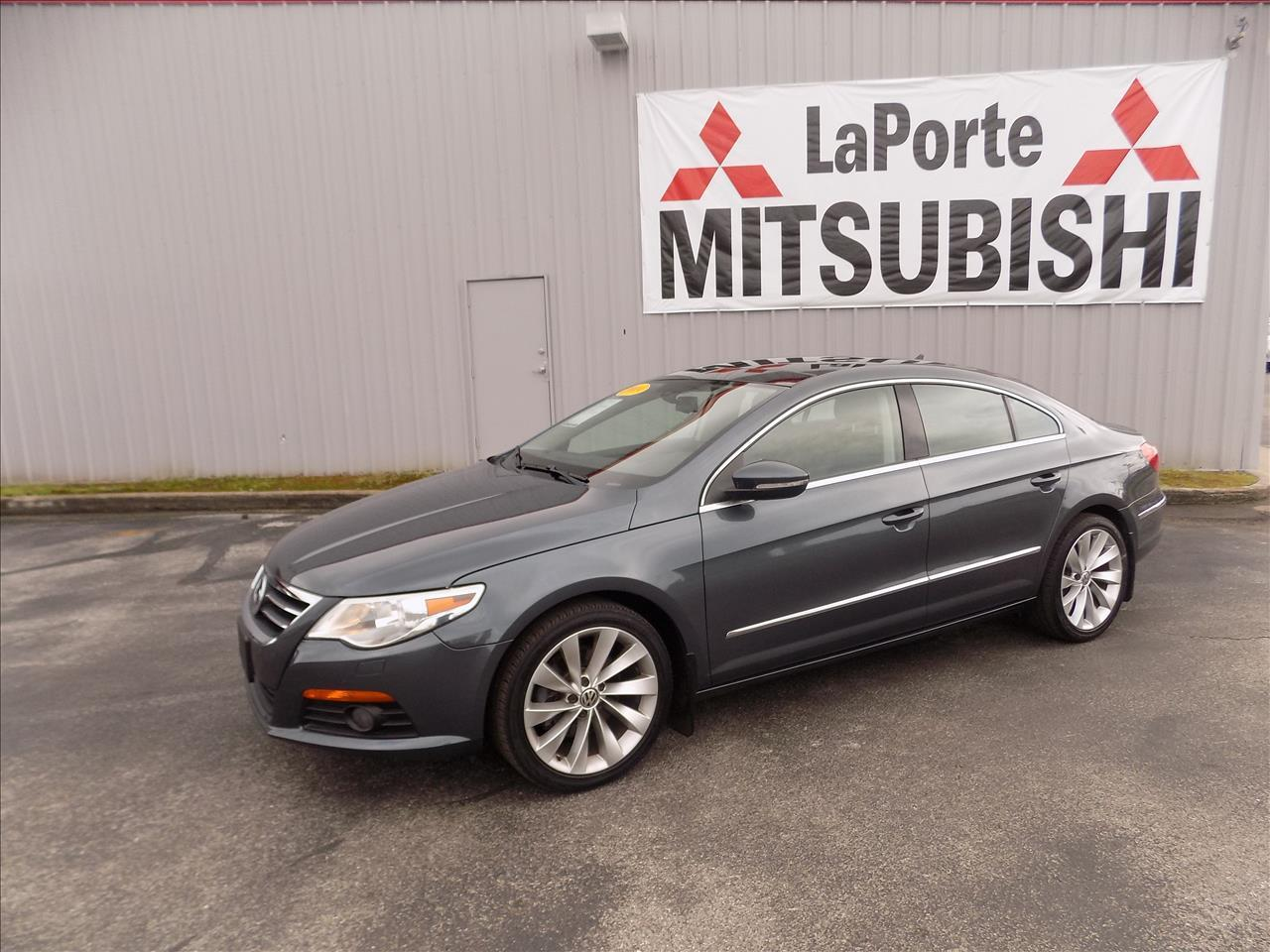 2009 VOLKSWAGEN CC VR6 SPORT 4DR SEDAN blue laporte mitsubishi w in-house advantage also can put
