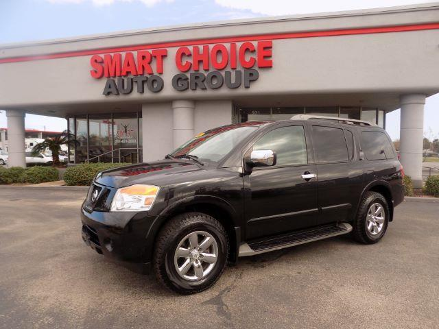 2010 NISSAN ARMADA SE 2WD black abs brakesadjustable foot pedalsair conditioningalloy wheelsa