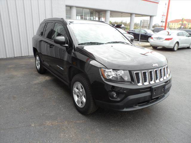 2015 JEEP COMPASS black right now with 95 down with payments starting from as low as 334 call