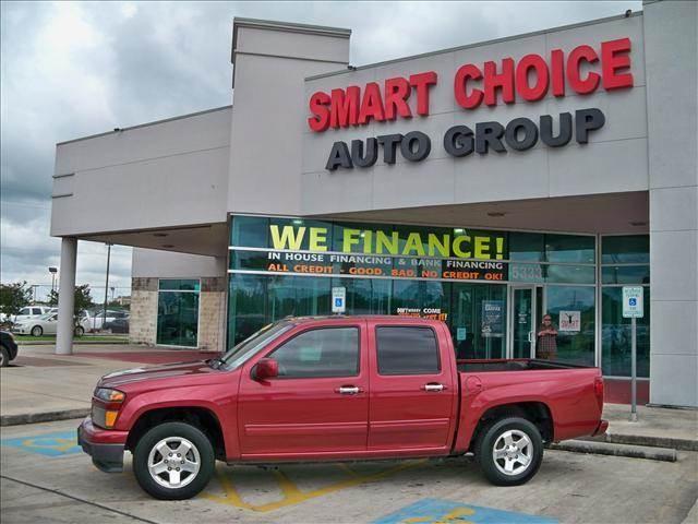2010 CHEVROLET COLORADO LT 4X2 4DR CREW CAB W1LT red 104048 miles VIN 1GCDSCDE8A8120778