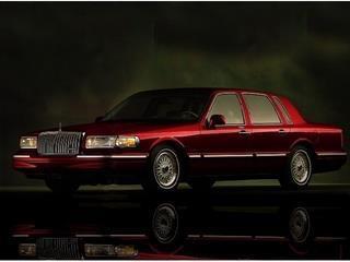 1997 LINCOLN TOWN CAR SIGNATURE 4DR SEDAN unspecified laporte mitsubishi w in-house advantage al