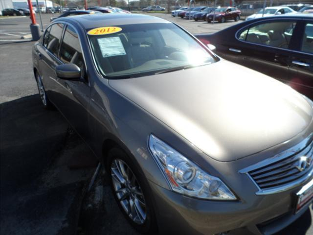 2012 INFINITI G37 SEDAN gray april showers bring may flowers right now with 350 down with payme