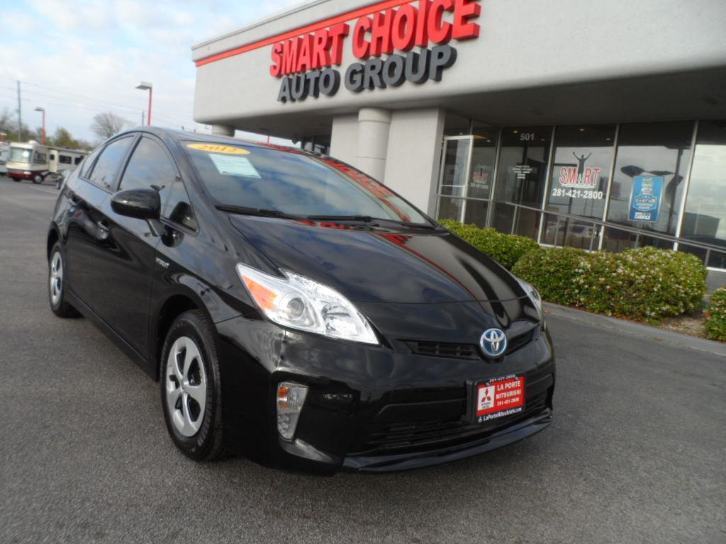 2012 TOYOTA PRIUS ONE 4DR HATCHBACK black new vehicle warrantymitsubishi confidence10-year100000