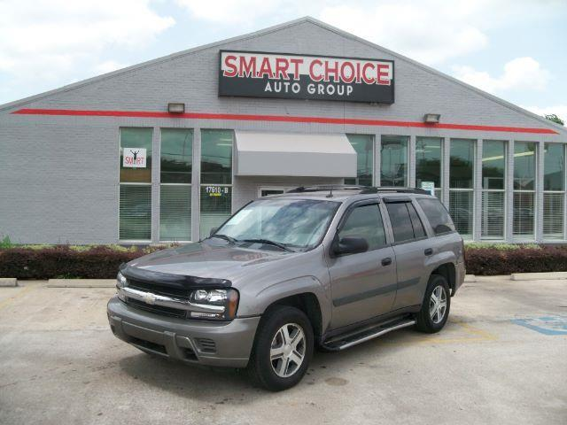 2005 CHEVROLET TRAILBLAZER LS 4WD 4DR SUV grey front air conditioningfront air conditioning - au