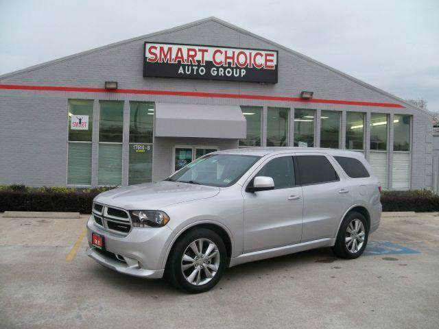 2011 DODGE DURANGO RT 4DR SUV silver april showers bring may flowers right now with 350 down w