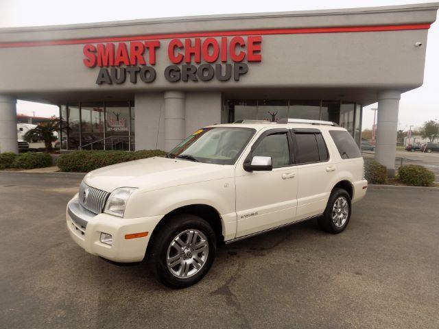 2008 MERCURY MOUNTAINEER PREMIER 4X2 4DR SUV V6 white abs brakesair conditioningalloy wheelsam