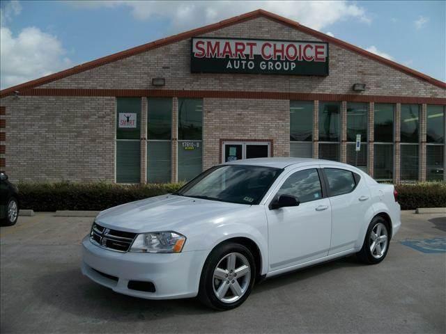 2013 DODGE AVENGER SE 4DR SEDAN white door handle color - body-color front bumper color - body-c