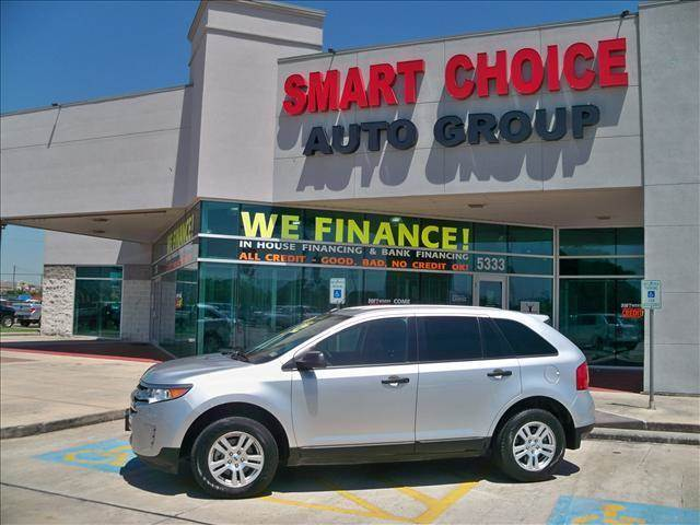 2012 FORD EDGE SE 4DR SUV silver door handle color - black exhaust - dual exhaust tips exhaust