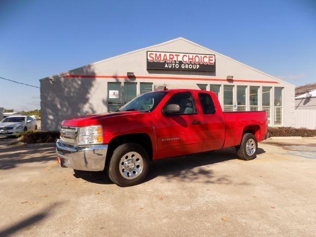 2013 CHEVROLET SILVERADO 1500 LT 4X2 4DR EXTENDED CAB 65 FT red abs brakesair conditioningam