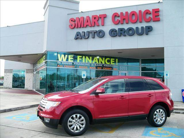 2010 FORD EDGE LIMITED 4DR SUV red door handle color - body-color exhaust - dual exhaust tips e
