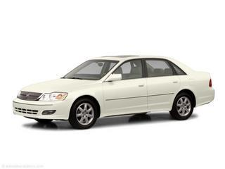 2002 TOYOTA AVALON XL WBUCKET SEATS white diamond pearl laporte mitsubishi w in-house advantage