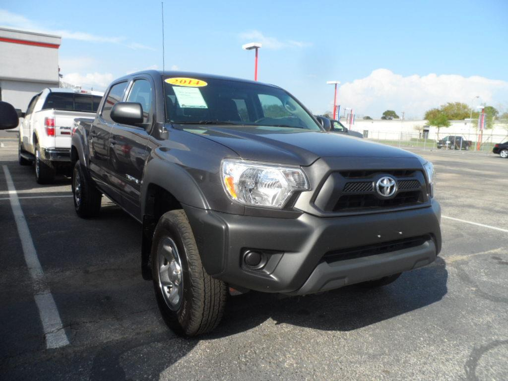 2014 TOYOTA TACOMA PRERUNNER V6 4X2 4DR DOUBLE CAB grey thank you very much for the opportunity t