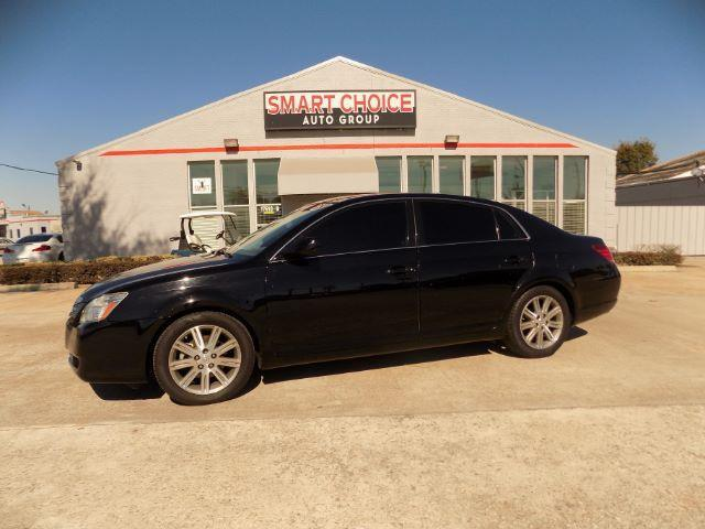 2007 TOYOTA AVALON LIMITED 4DR SEDAN black abs brakesair conditioningalloy wheelsamfm radioa