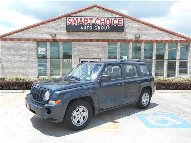 2008 JEEP PATRIOT SPORT 4X2 4DR SUV WCJ1 SIDE AIR blue 67815 miles VIN 1J8FT28W58D599190