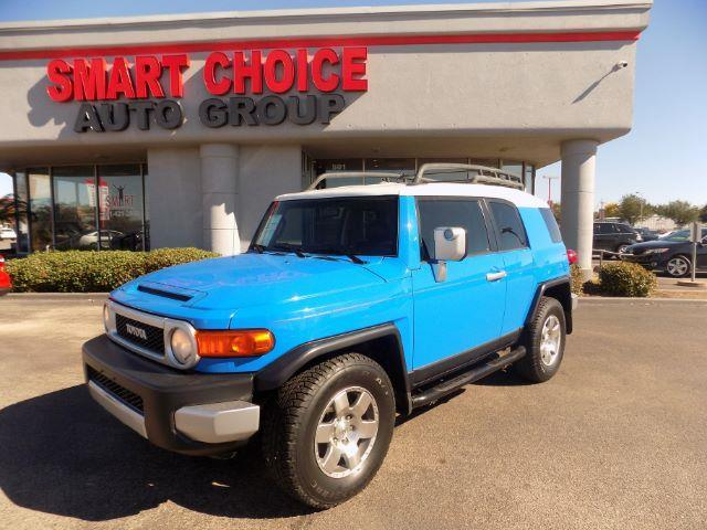 2007 TOYOTA FJ CRUISER BASE 4DR SUV 4L V6 5A blue abs brakesair conditioningamfm radiocargo