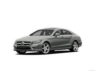 2012 MERCEDES-BENZ CLS CLS550 4DR SEDAN silver laporte mitsubishi w in-house advantage also can p