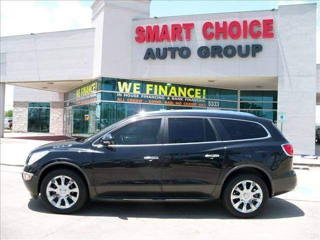 2012 BUICK ENCLAVE PREMIUM 4DR SUV gray door handle color - chrome exhaust - dual exhaust tips