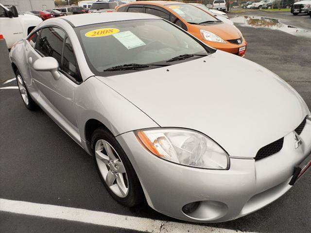 2008 MITSUBISHI ECLIPSE GS HATCHBACK liquid silver metallic ba10642 2008 mitsubishi eclipsegs sil