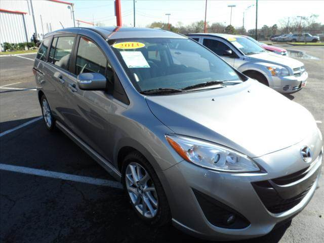 2013 MAZDA MAZDA5 GRAND TOURING 4DR MINI VAN silver april showers bring may flowers right now wi