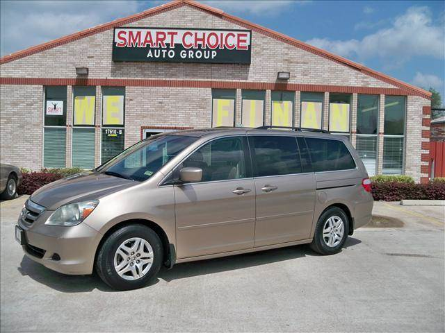 2006 HONDA ODYSSEY EX-L 4DR MINIVAN gold rear spoiler air filtration cargo area light door tri