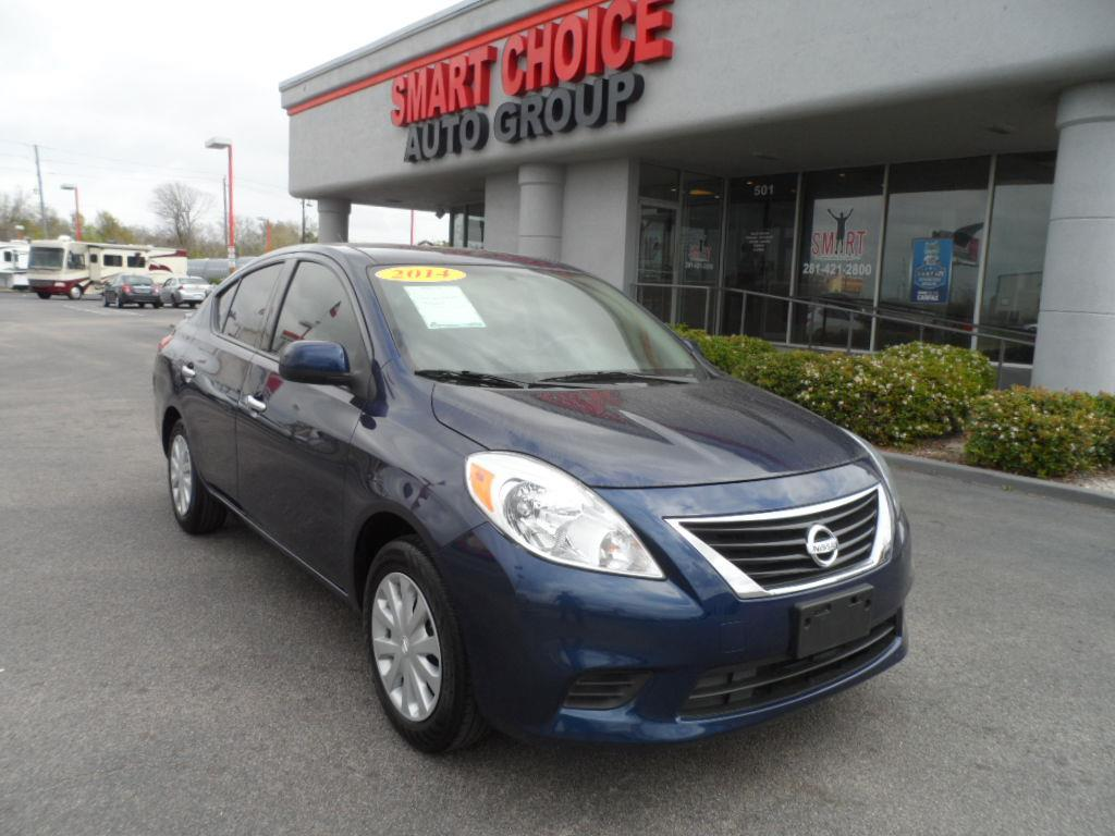 2014 NISSAN VERSA S blue onyx thank you very much for the opportunity to earn your business lapo